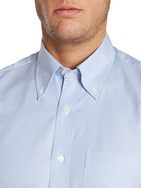 Chester Barrie Plain Tailored Fit Long Sleeve Shirt