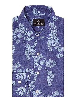 Floral Tailored Fit Long Sleeve Shirt