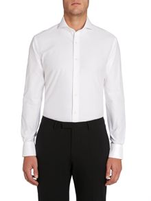 Chester Barrie Plain Tailored Fit Cutaway Collar Formal Shirt