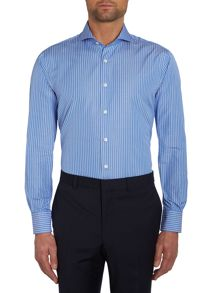 Chester Barrie Contemporary Richard Spaced Stripe Shirt
