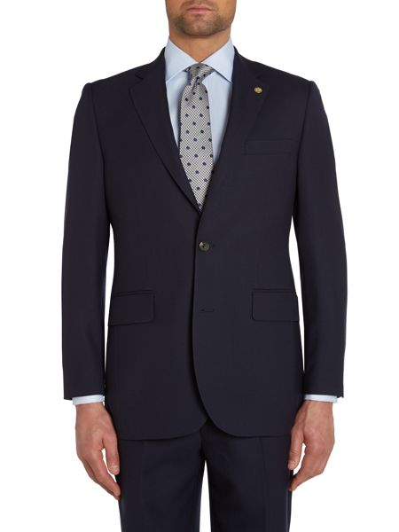 Chester Barrie Plain Notch Collar Tailored Fit Suit Jacket