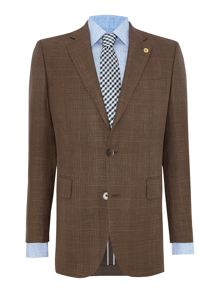 Tailored Fit Blazer - Wool/Silk/Linen