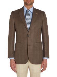 Chester Barrie Tailored Fit Blazer - Wool/Silk/Linen