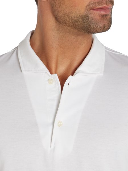 Chester Barrie Plain Slim Fit Polo Shirt
