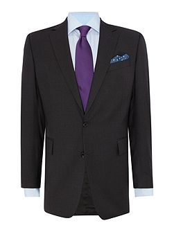 Plain Weave Notch Collar Tailored Fit Suit