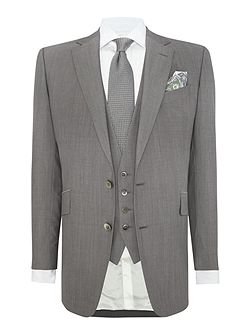 Notch Collar Wedding Tailored Fit Suit