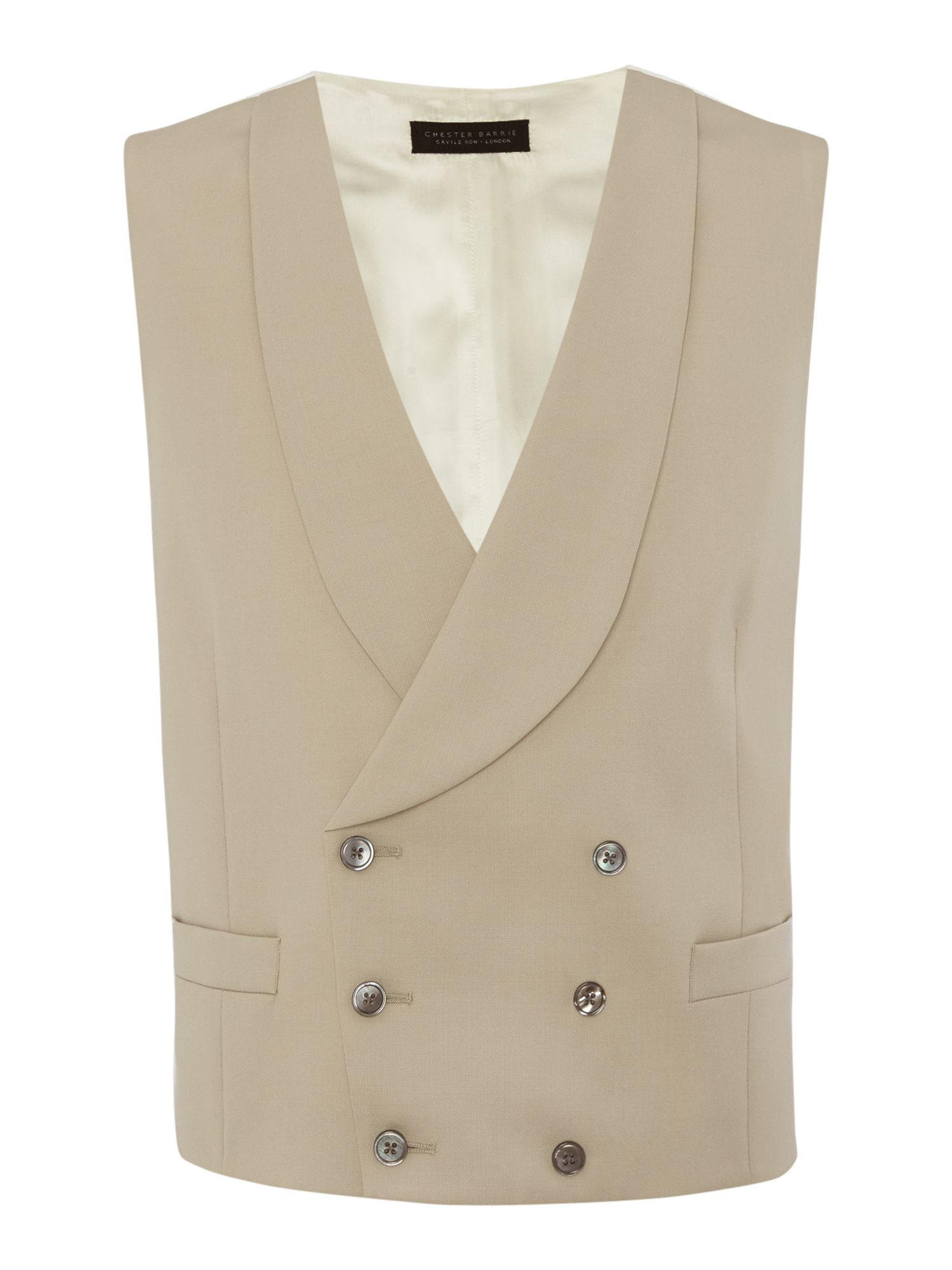 1900s Edwardian Men's Suits and Coats Mens Chester Barrie Plain Tailored Fit Waistcoat £78.00 AT vintagedancer.com