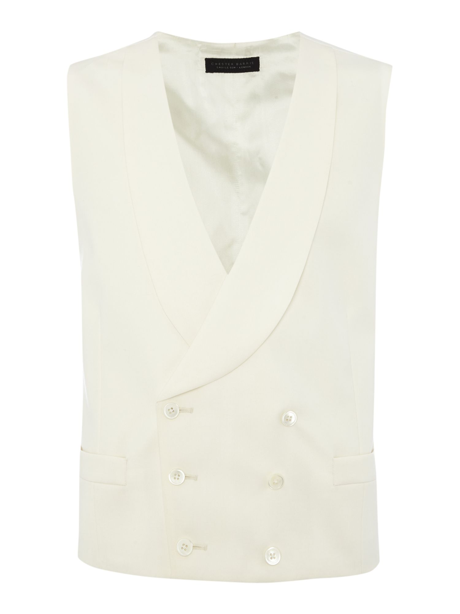 Mens Chester Barrie Plain Tailored Fit Waistcoat £195.00 AT vintagedancer.com