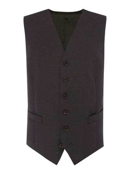 Chester Barrie Plain Tailored Fit Waistcoat