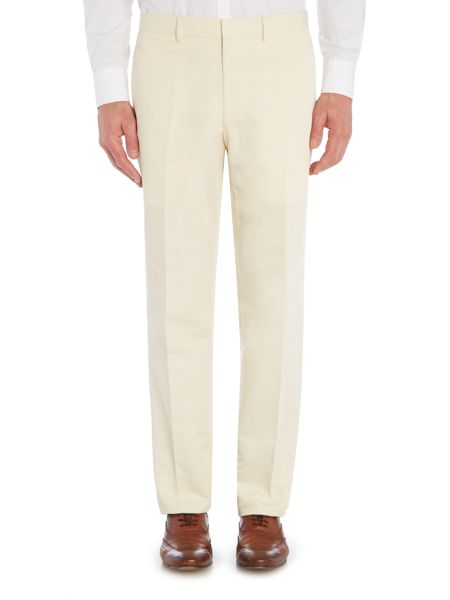 Chester Barrie Cotton/Linen FF Trouser
