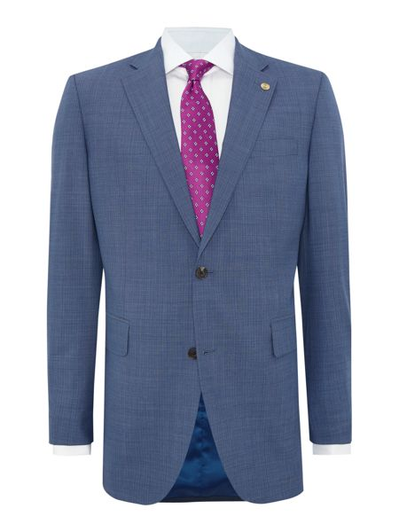 Chester Barrie Pin Dot Notch Collar Tailored Fit Suit