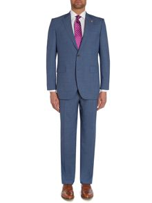 Pin Dot Notch Collar Tailored Fit Suit