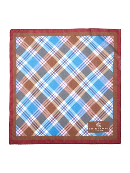 Chester Barrie Patterned Pocket Square