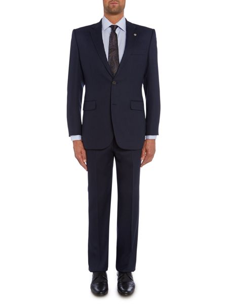 Chester Barrie Birdseye Tailored Fit Single Breasted Jacket
