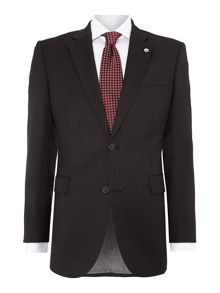 Plain Tailored Fit Single Breasted Jacket