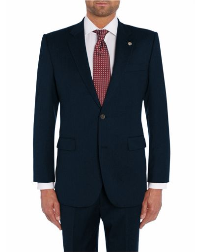 Chester Barrie Serge tailored fit suit jacket