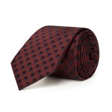Silk Tie - Twill Circle Dot