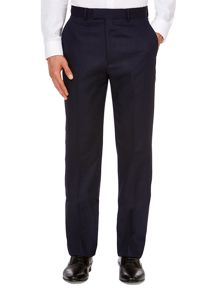 Chester Barrie Birdseye Tailored Fit Suit Trousers