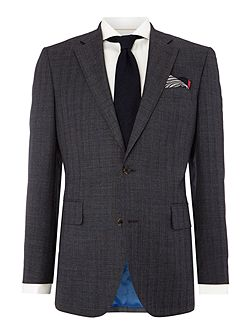 Stripe Tailored Fit Suits