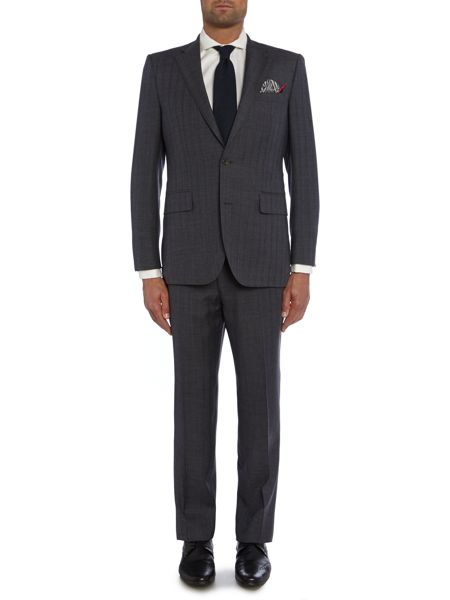 Chester Barrie Stripe Tailored Fit Suits
