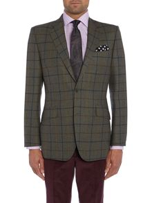 Tailored Fit Jacket - Check