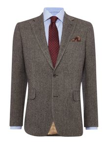 Tailored Fit Blazer - Herringbone