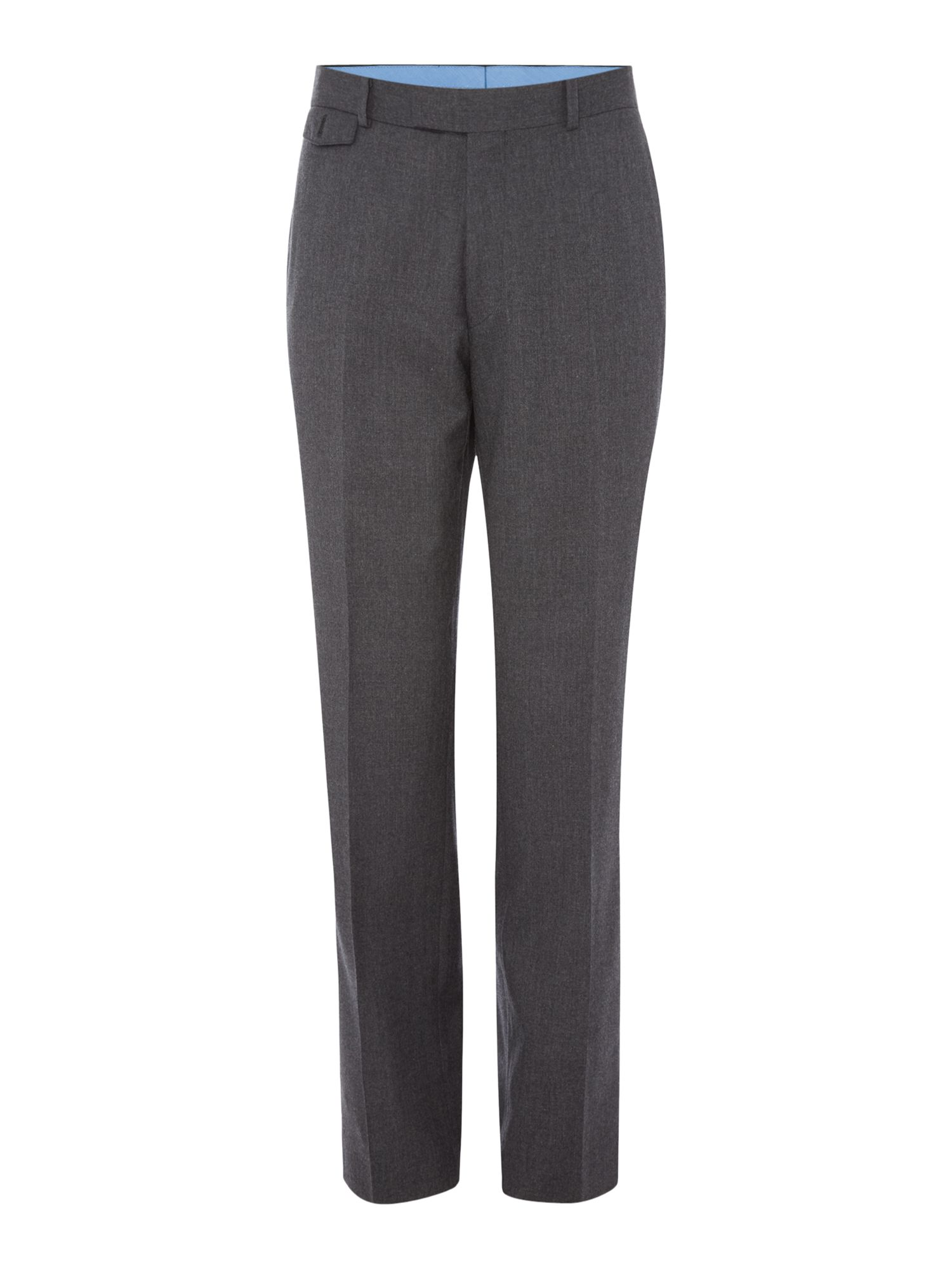 Chester Barrie Men's Chester Barrie Flannel Trousers, Charcoal