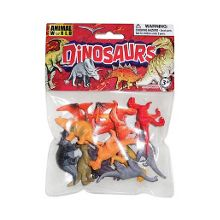 Animal World Dinosaur mini figures - 12 pieces