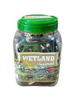 Animal world wetland animals figurines