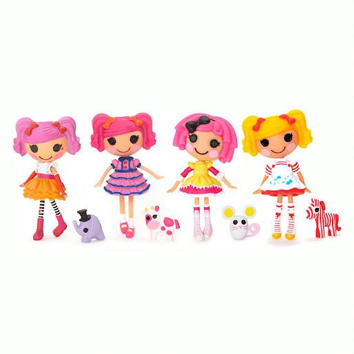 Lalaloopsy Mini Dolls 4 Pack
