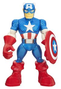 Playskool Heroes Captain America Figure