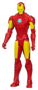 The Avengers Titan Hero Series Iron Man Figure
