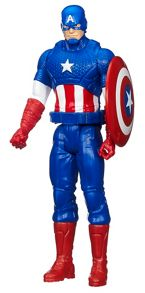 Titan Hero Series Captain America Figure