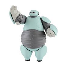 10Cm Baymax Figure In Beta Armour