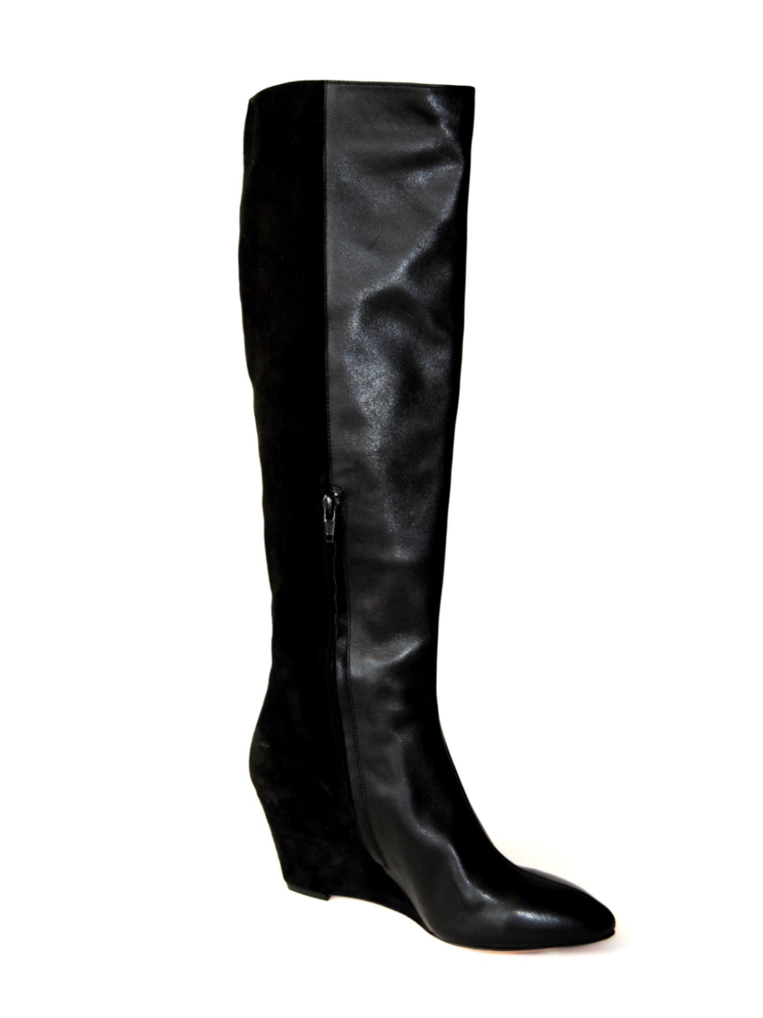 Venettia wedge high boots