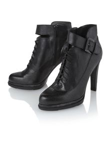 Sasha heel and platform ankle boots