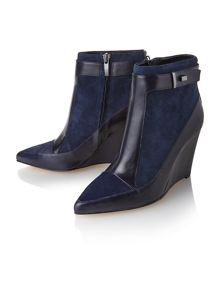Berne wedge ankle boots