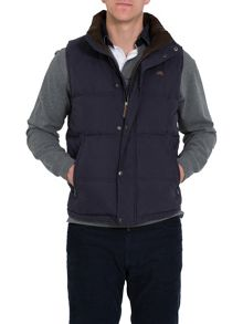 Raging Bull Big and tall signature gilet navy