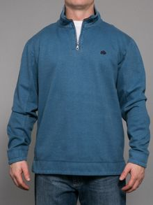 Raging Bull Big and tall plain 1/4 zip top