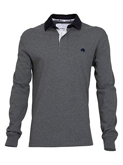 Peached rugby grey / elbow patch