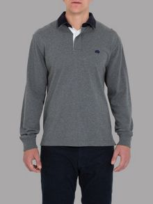 Raging Bull Peached rugby grey / elbow patch