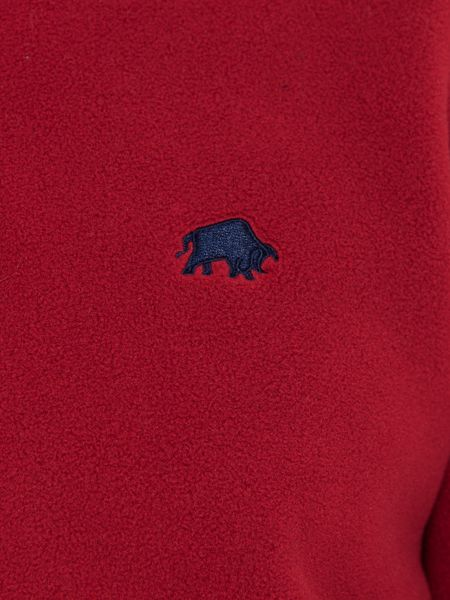 Raging Bull Big and tall 1/4 zip fleece claret