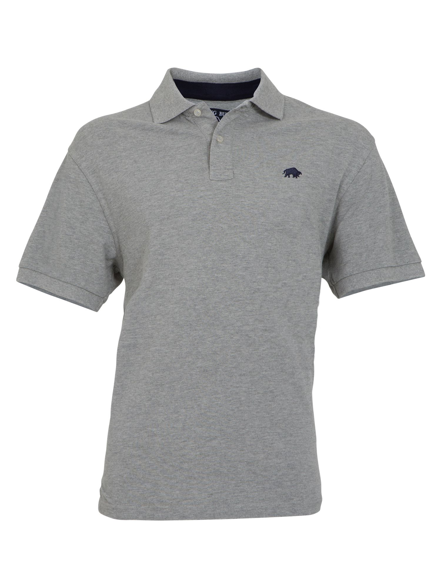 Signature pique polo grey
