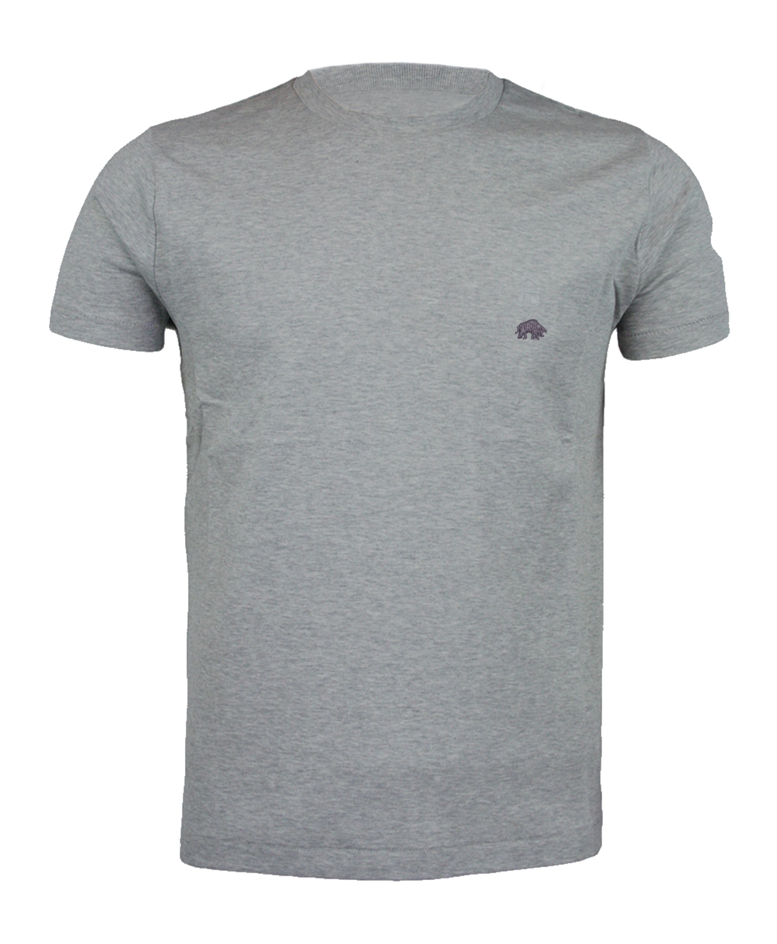 Signature tee marl grey