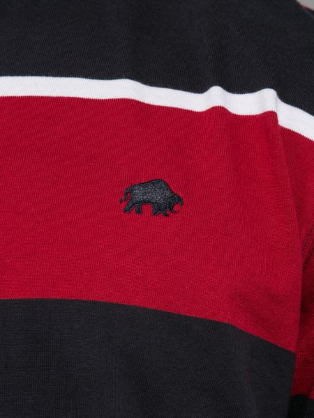 Raging Bull Triple Stripe Rugby Shirt