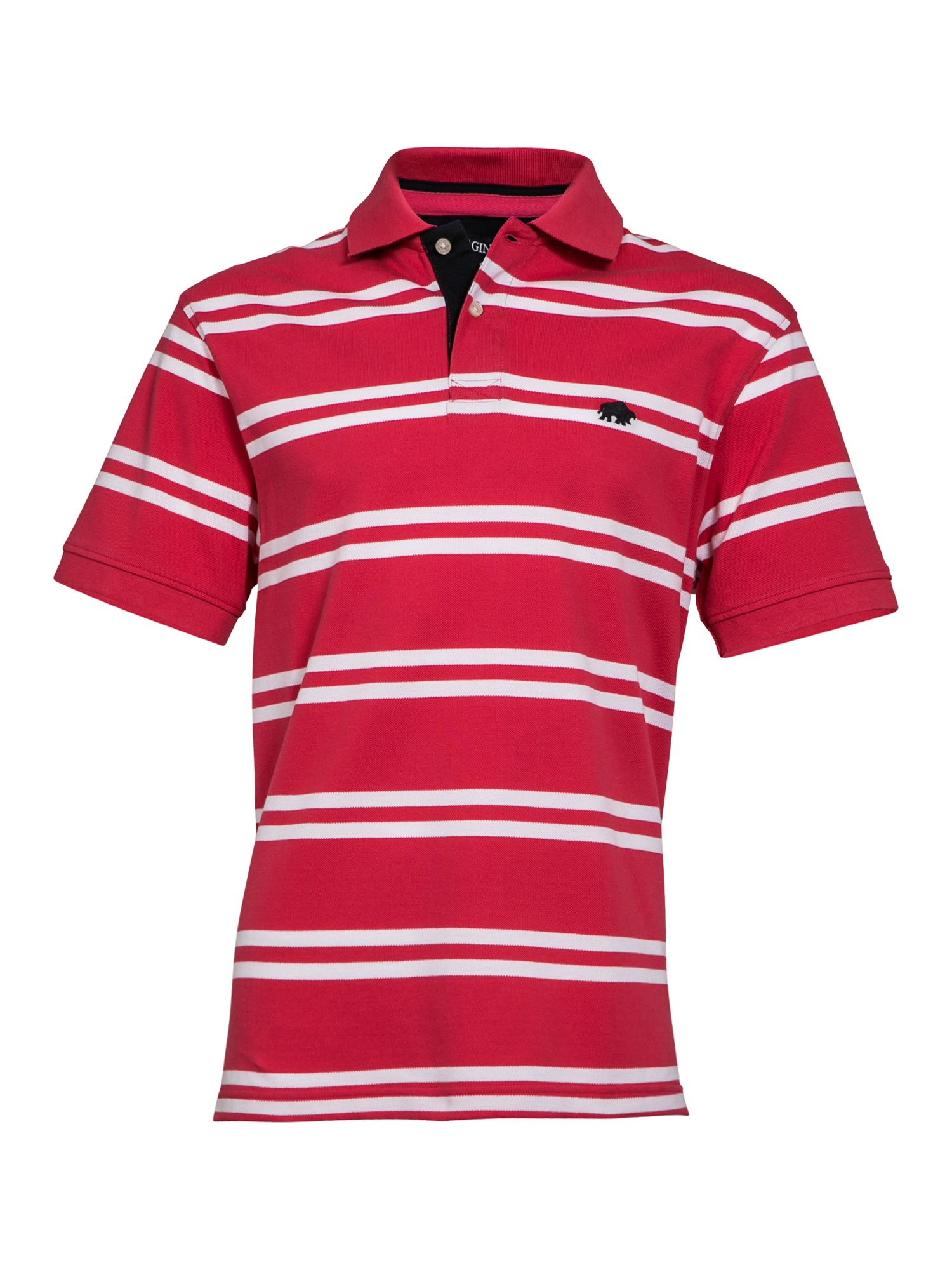 Big and Tall Double stripe polo shirt