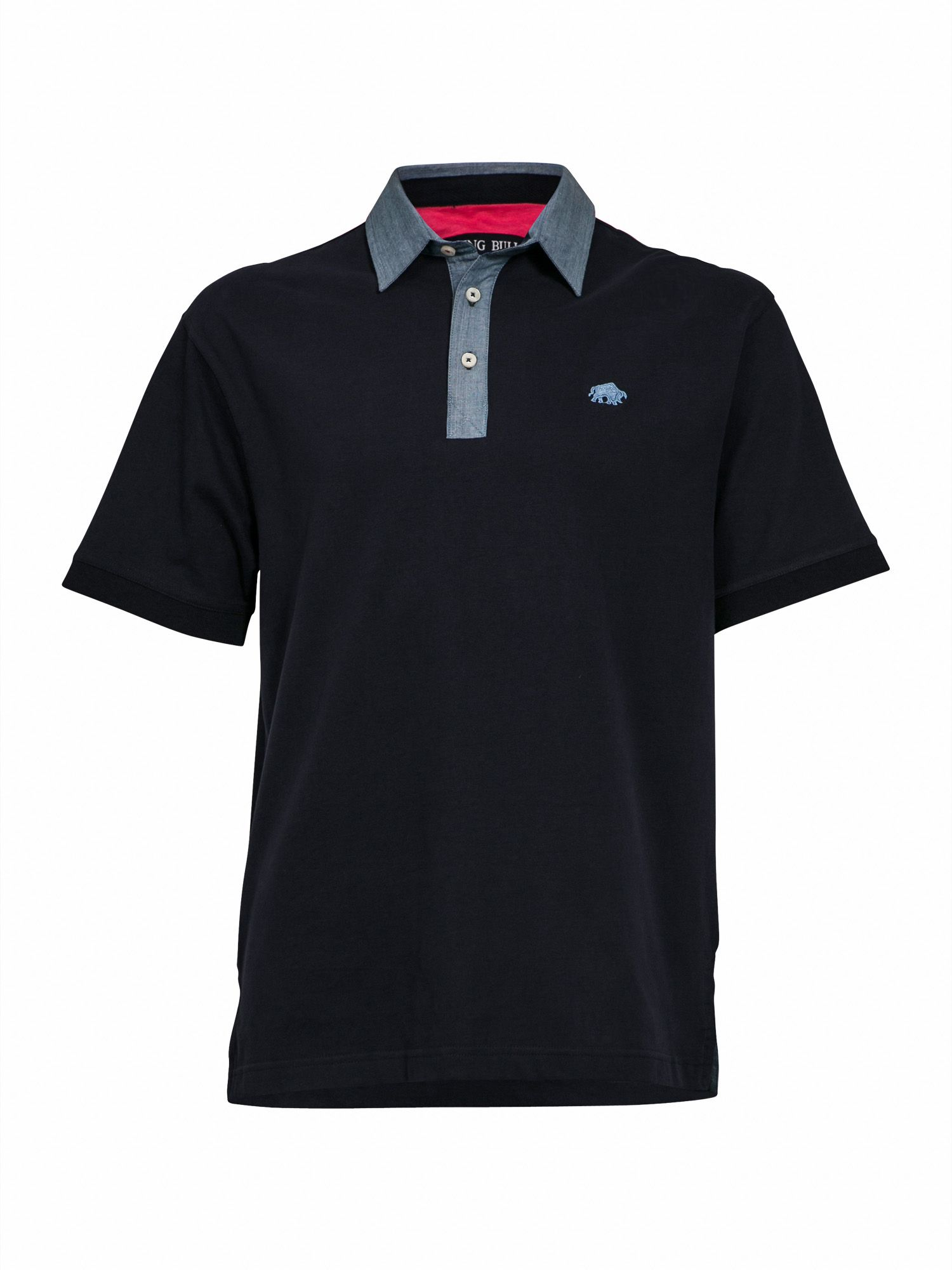 Big and Tall Rugby collared polo shirt