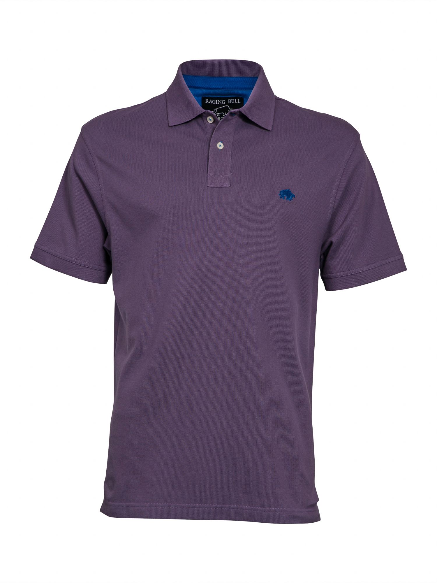 Men's Raging Bull Big and Tall New signature polo shirt, Purple
