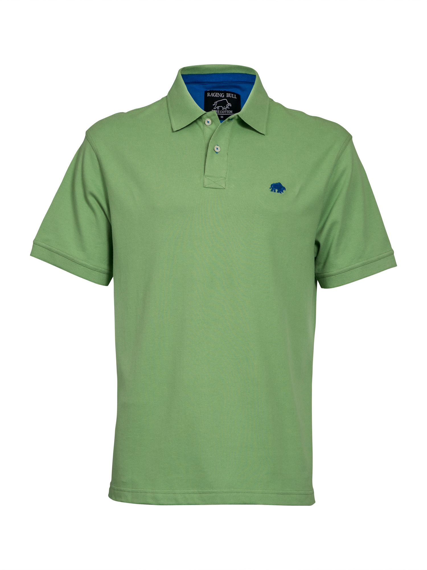 Men's Raging Bull New Signature Polo Shirt, Green