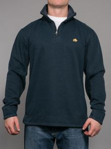 Big and Tall Signature quarter zip sweatshirt